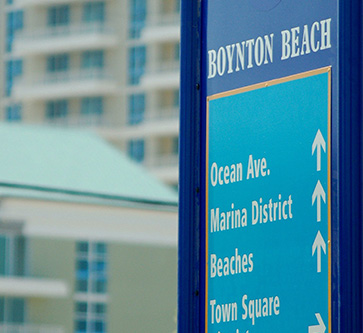 Boynton Beach Map