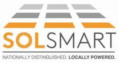 SolSmart. Nationally distinguished. Locally powered