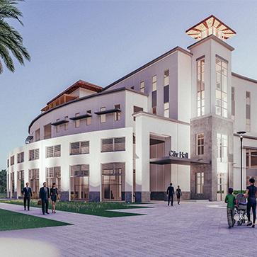 new city hall rendering