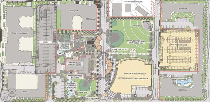 Town Square Boynton Beach plan overview