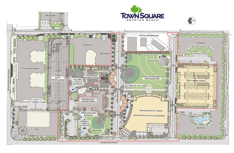 Town Square Boynton Beach plan