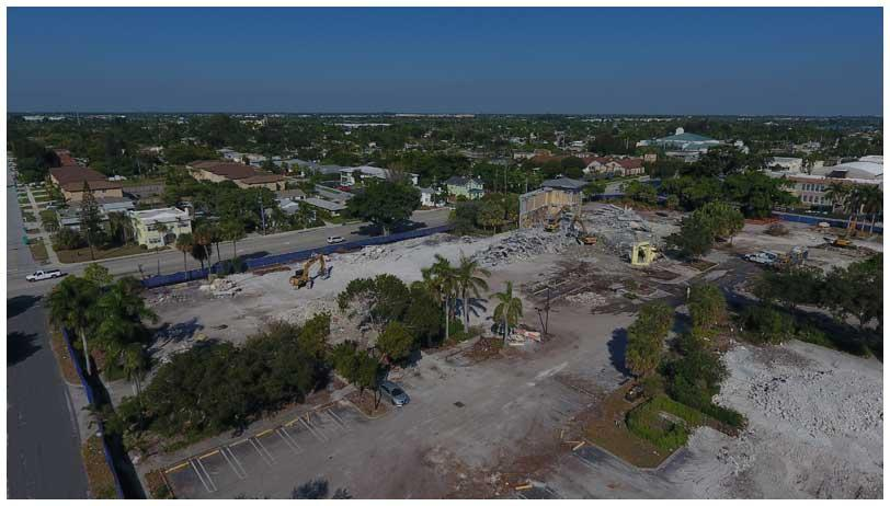 Town Square Project Demolition Phase (10-30-18)