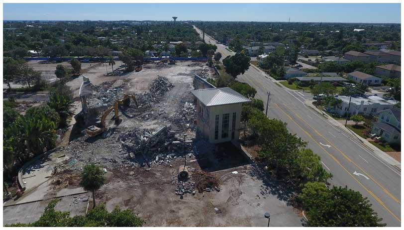 Town Square Project Demolition Phase (10-29-18)