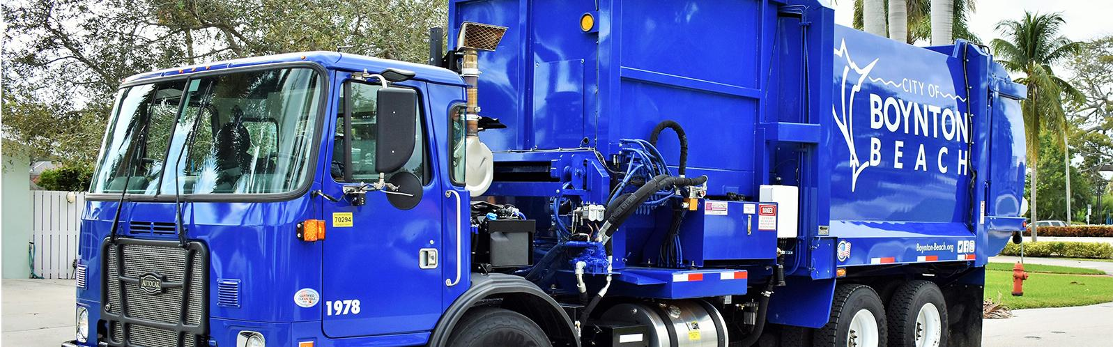 city of boynton beach garbage truck