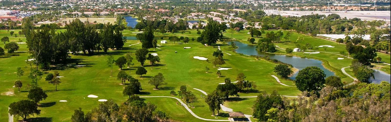 The Links at Boynton Beach aerial view