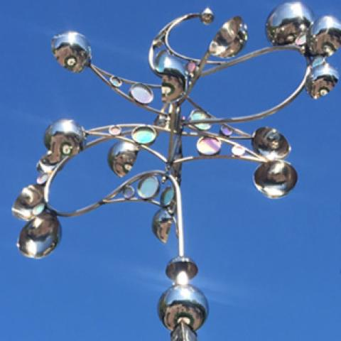 kinetic art in boynton beach