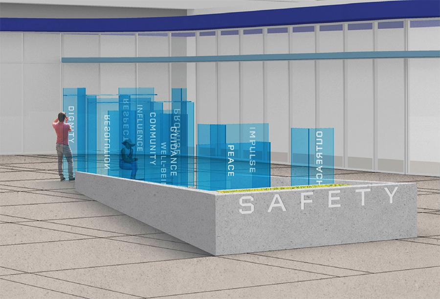 Image of Police Station Artwork Rendering